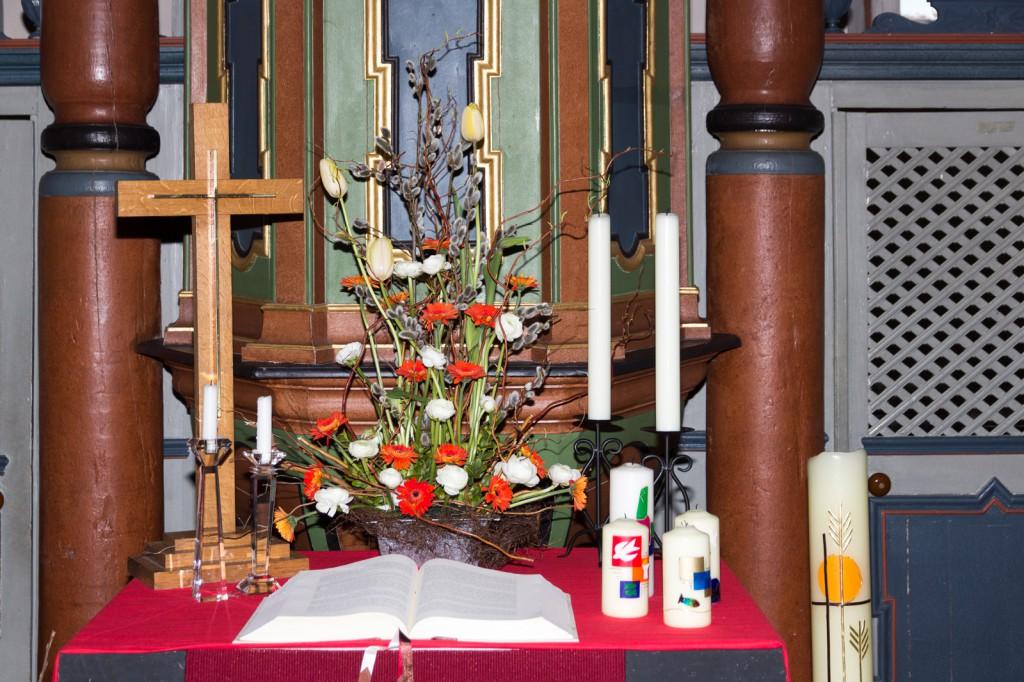 Der Altar in Liebenscheid