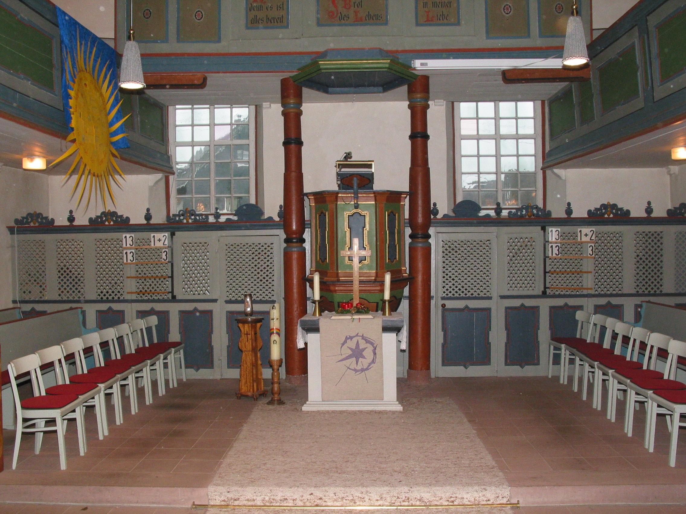 Ihre Gebetsanliegen in unseren Gottesdiensten